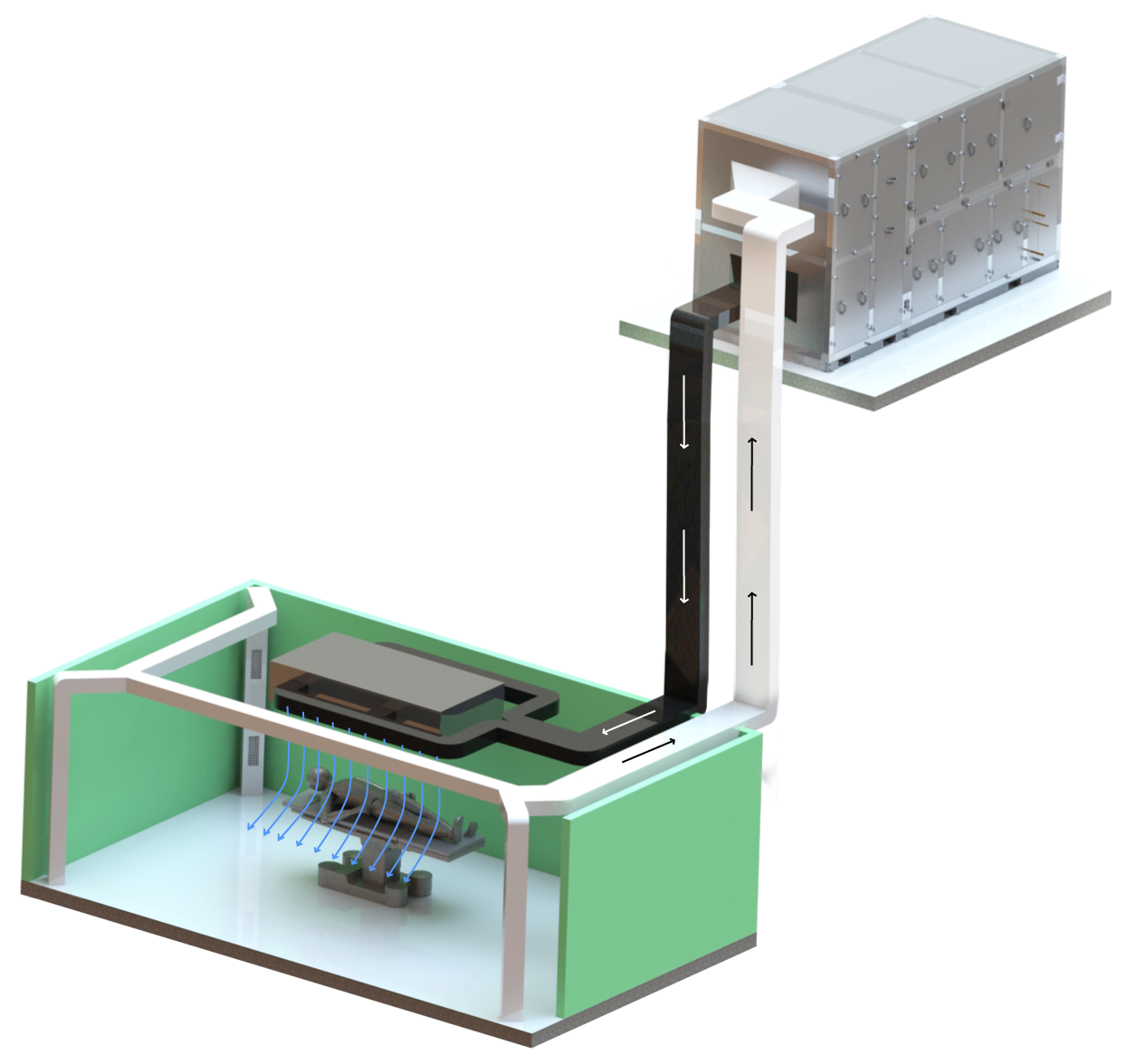 Хигиенни климатични камери в болници операционни зали
