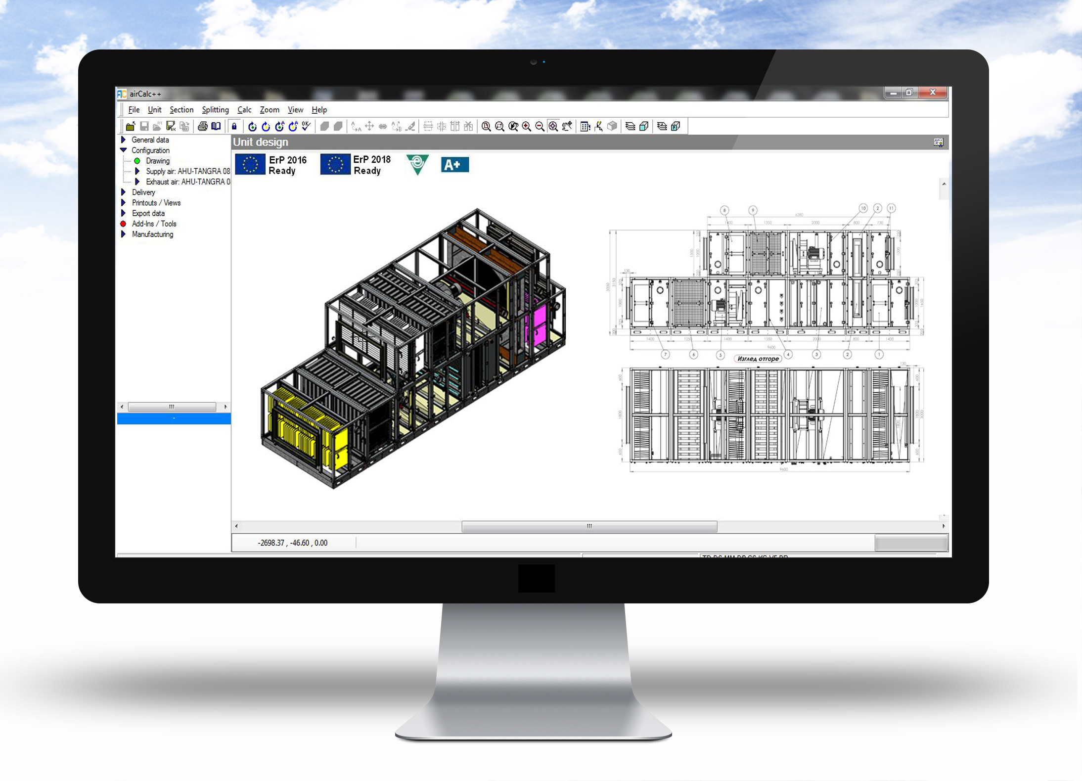 Tangra News New Software Applications For Hvac Specialists And Drawing Tools Ahu Aircalc
